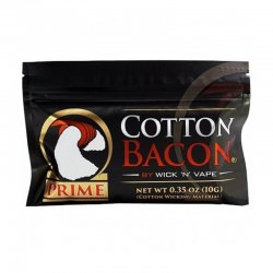 Paquet de coton pour reconstructible Cotton Bacon Prime Wick'n'Vape