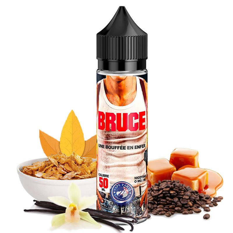 flacon e-liquide Vape Party Bruce Swoke 50 ml