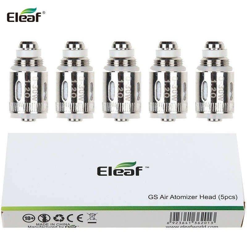 Résistances GS Air Pure Cotton 0.75 ou 1.2 ohm Eleaf