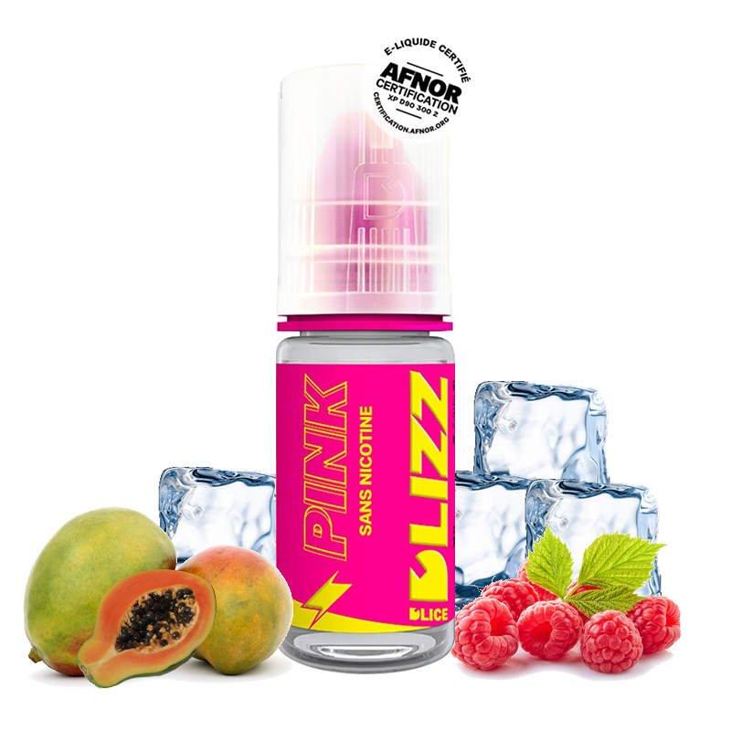 Eliquide Pink Dlizz de DLICE framboise mangue frais