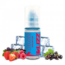 Eliquide Blue DLIZZ de DLICE fruits rouges cassis frais