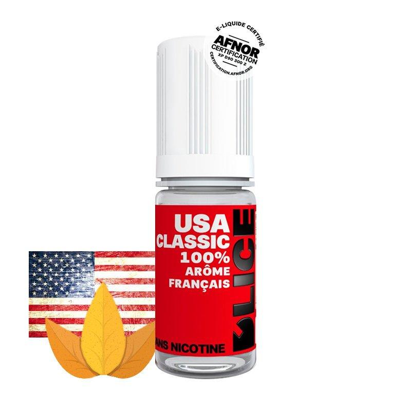 Eliquide USA Clasic DLICE tabac blond américain