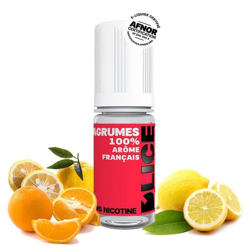 Eliquide Agrumes DLICE orange citron yuzu