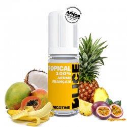 Eliquide Tropical DLICE cocktail Mangue Ananas Fruits de la passion Banane et Noix de coco