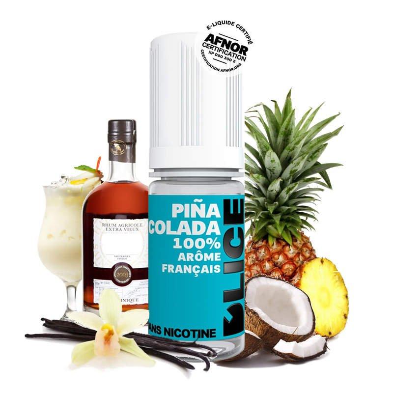 Eliquide Pina Colada DLICE Ananas - Noix de coco - Rhum