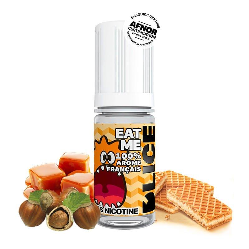 Eliquide Eat Me DLICE gaufrette vanille caramel noisette