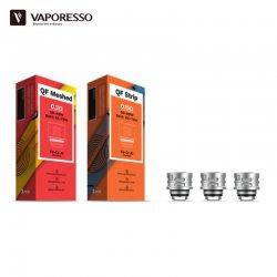 Boîte 3 résistances QF Meshed 0.2 ohm ou QF Strip 0.15 ohm Vaporesso