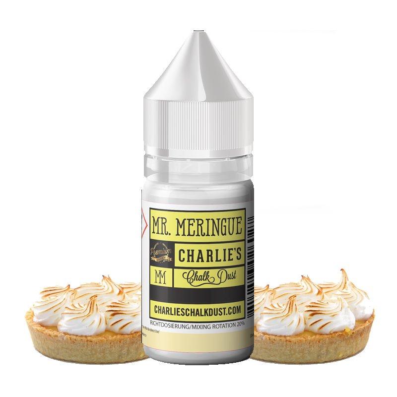 Arôme concentré Mr. Meringue Charlie's Chalk Dust saveur tarte citron meringuée