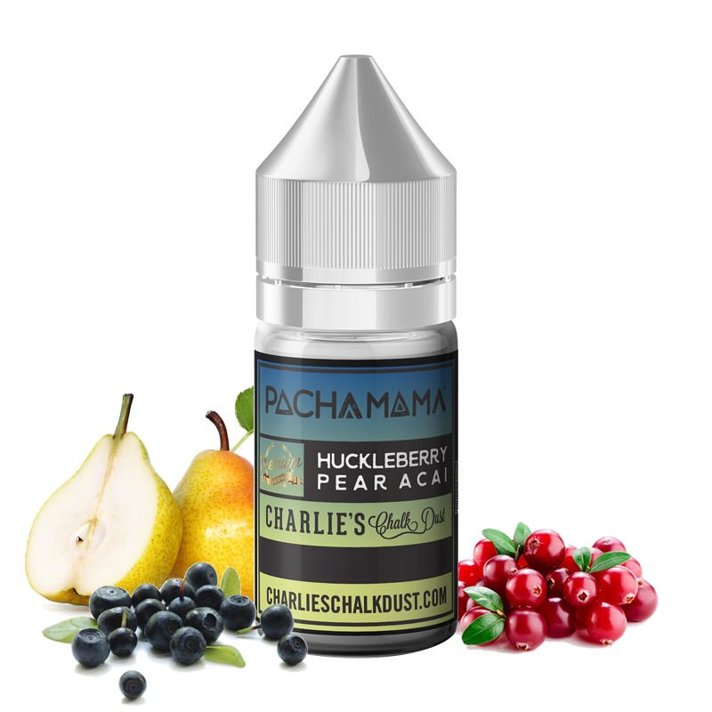 Arôme Huckleberry Pear Açai Pacha Mama Airelles - Poire - Baies d'açai