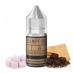 Arôme concentré Campfire de Charlie's Chalk Dust saveur biscuit - chocolat au lait - guimauve