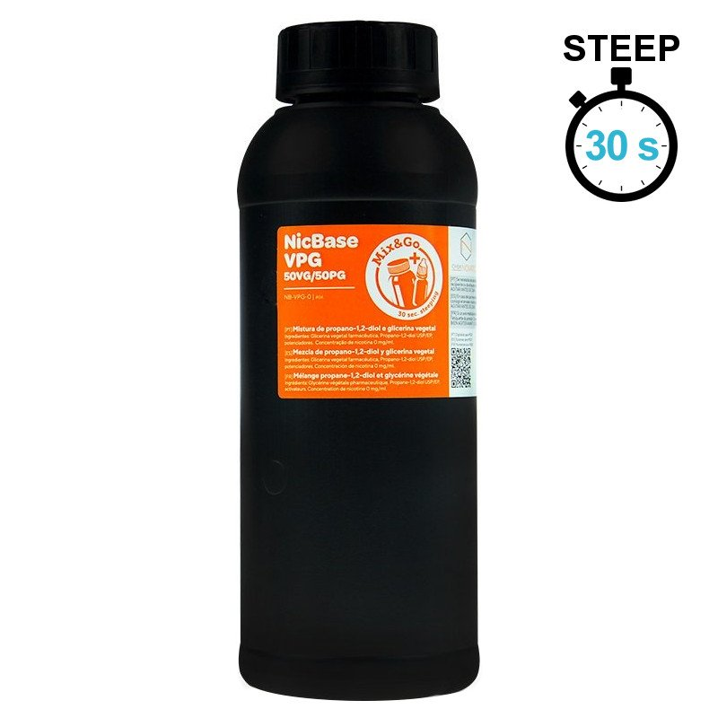 Base 50/50 sans steep Mix&Go Chemnovatic 1 Litre
