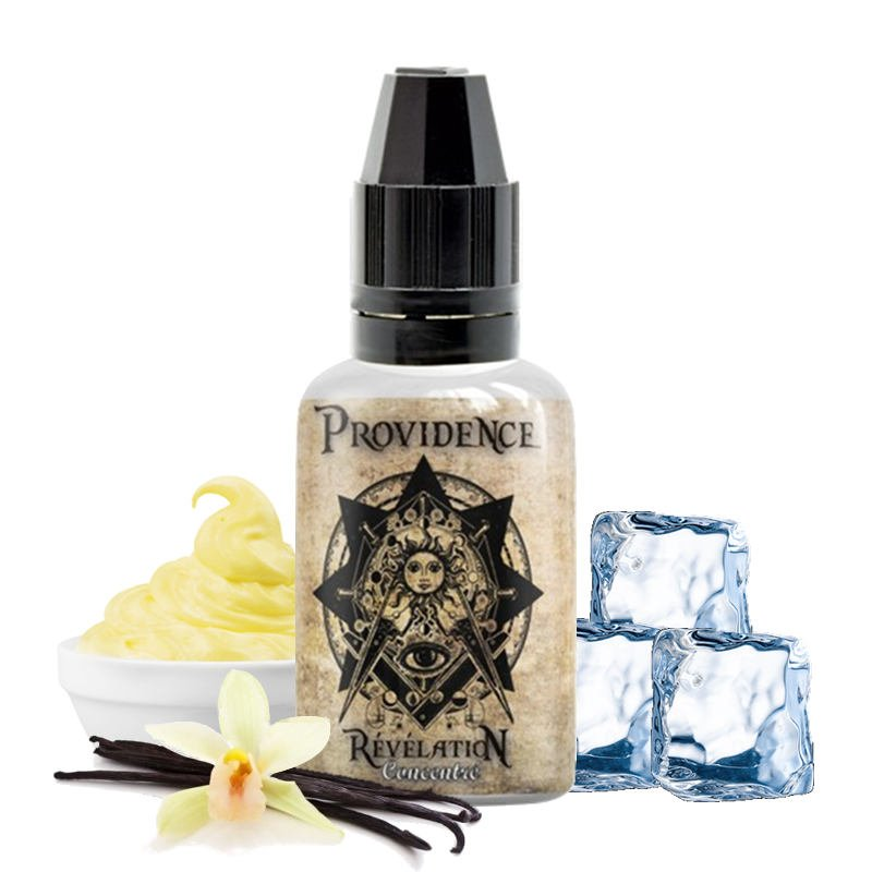 Arôme concentré Providence Rélévaltion de Kapalina : Custard - Vanille - Frais