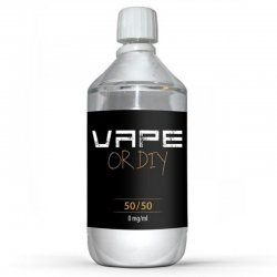 Base neutre 50/50 Vape Or Diy 1 litre