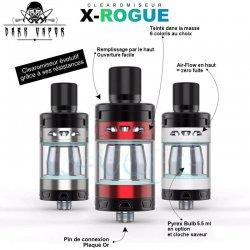 Clearomiseur X-Rogue Dark Vapor : caractéristiques principales