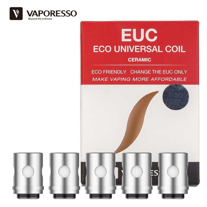 Résistances Céramic EUC 0.3 ou 0.5 ohm Vaporesso
