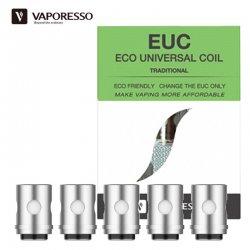 Résistances EUC Vaporesso pour clearomiseur Veco Tank, Veco Tank Plus, VM Tank 22, VM Tank 25 et VM Solo 22