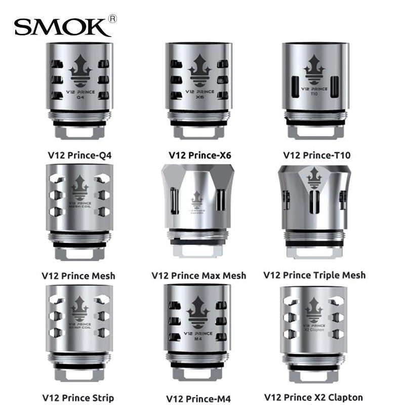 Résistances TFV12 Prince Smok