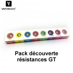 Pack résistances GT Vaporesso