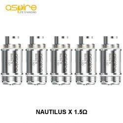 Résistances Nautilus X Aspire 1.5 ohms