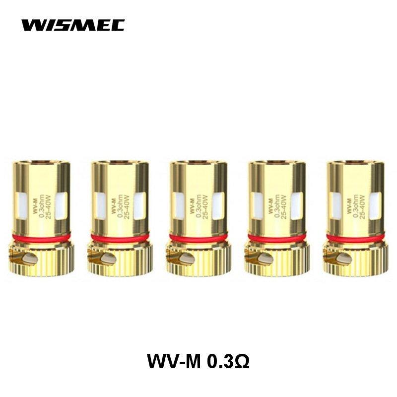 Résistances WV-M 0.3 ohm Wismec