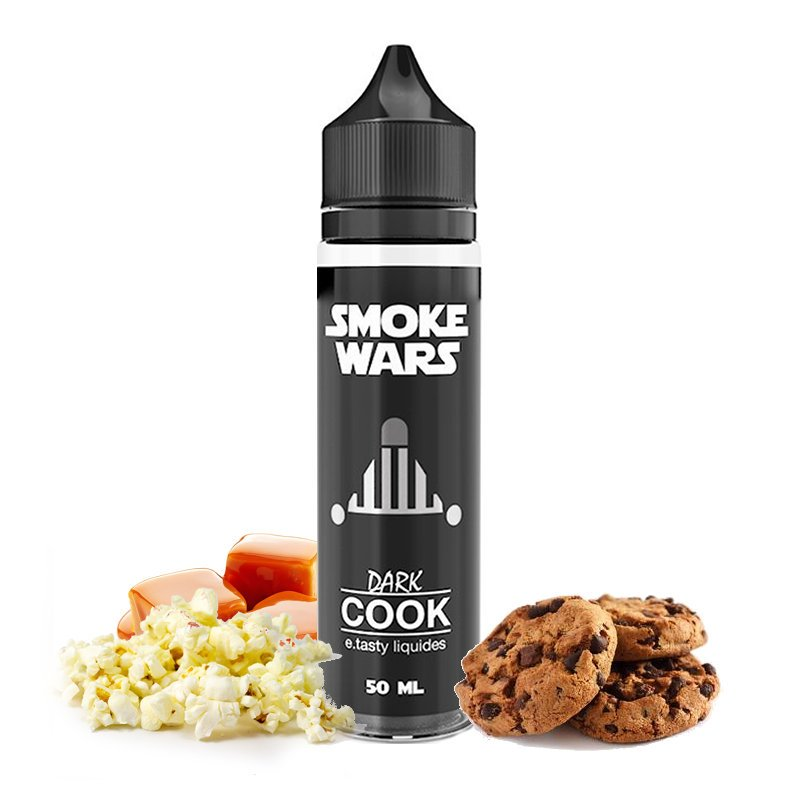 E-liquide Dark Cook Smoke Wars E.Tasty 50 ml