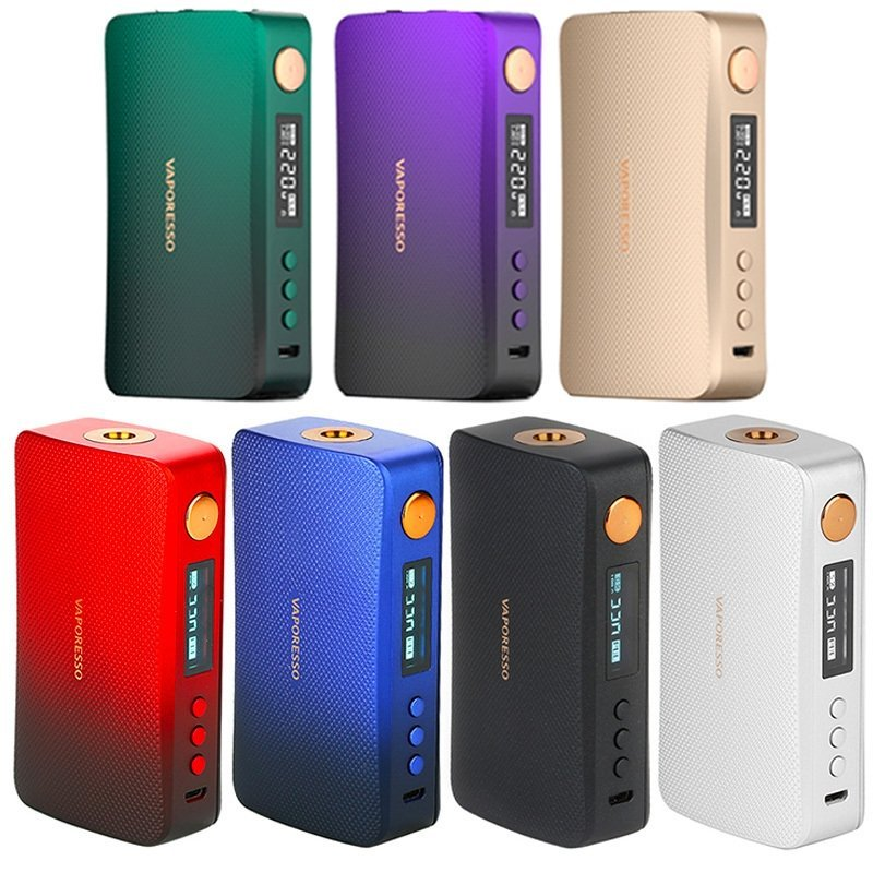 Box gen vaporesso : 7 couleurs au choix