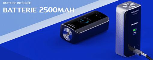 Batterie intégrée 2500 mAh