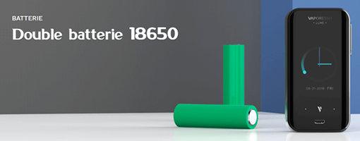 Box double accus 18650