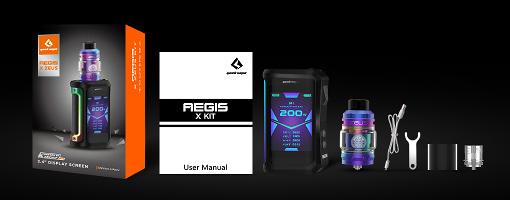 Contenu du kit Geekvape Aegis Zeus