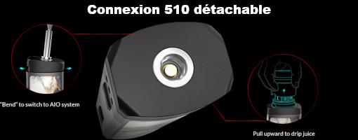 Connexion 510 pod OXVA Velocity