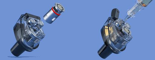 Remplissage d'e-liquide du Pod PM80 Vaporesso