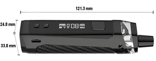 Dimensions Pod PM80 SE Vaporesso