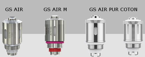 Résistances GS AIR Eleaf